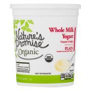 Nature's Promise Organic Whole Milk Plain Yogurt