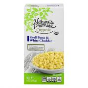 Nature's Promise Organic Shells & White Cheddar