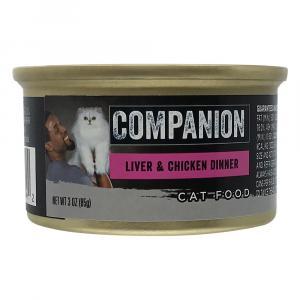 Companion Liver & Chicken Cat Food