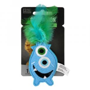 Companion Monster with Catnip Toy for Cats