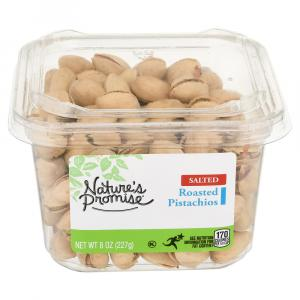 Nature's Promise Roasted Salted Pistachios In-Shell