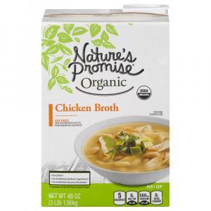 Nature's Promise Organic Chicken Broth