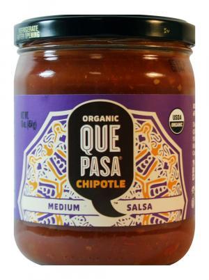 Que Pasa Organic Chipotle Salsa