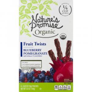 Nature's Promise Organic Blueberry Pomegranate Fruit Twists