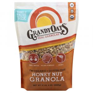 Grandy Oats Gluten Free Honey Nut Granola