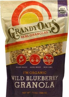 Grandy Oats Blueberry Bliss Granola