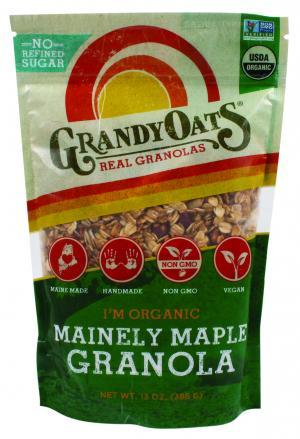 Grandy Oats Organic Mainely Maple Granola