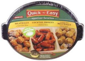 Quick N Easy Appetizer Favorites Tray