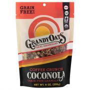 Grandy Oats Coffee Crunch Coconola Coconut Granola