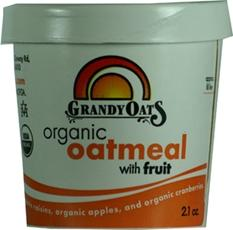 Grandy Oats Organic Oatmeal With Fruit