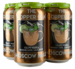 The Copper Can Moscow Mule