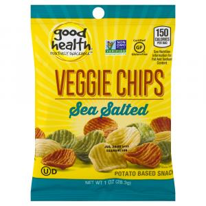 Good Health Veggie Chips With Sea Salt
