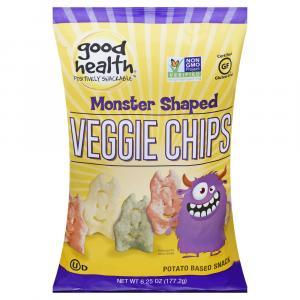 Good Health Gluten Free Monster Shaped Veggie Chips