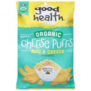 Good Health Organic Mac & Cheese Puffs