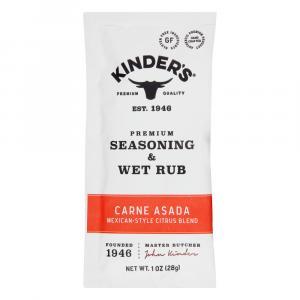 Kinder's Premium Seasoning & Wet Rub Carne Asada