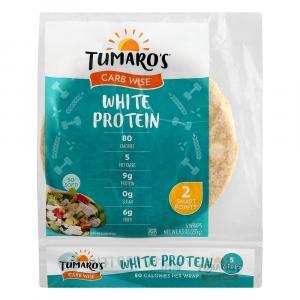 Tumaro's Carb Wise White Protein Wrap