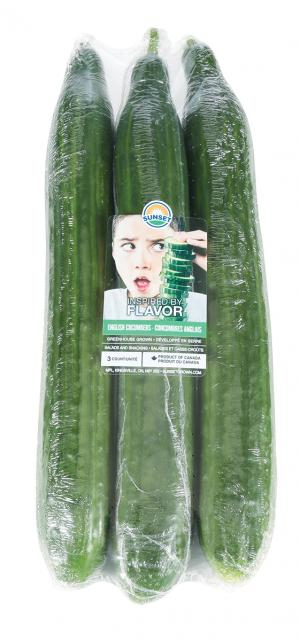 Triple Wrap Cucumbers