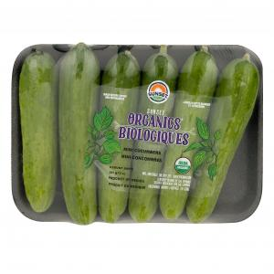 Sunset Organic Mini Cucumbers Bag