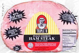 Triple M Boneless Ham Steak