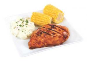 Backyard Bbq Marinated  Boneless Chicken Breast