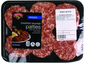 Hannaford Original Breakfast Sausage Patties