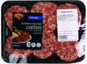 Hannaford Original Breakfast Sausage Patties