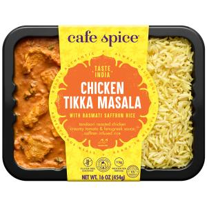 Cafe Spice Chicken Tikka Masala with Saffron Rice