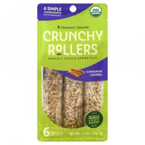 Crunchy Rice Rollers Cinnamon Churro