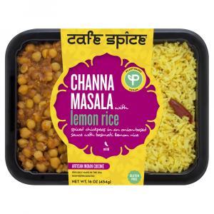 Cafe Spice Channa Masala with Lemon Rice