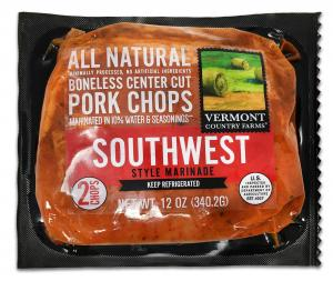 Vermont Country Farms Southwest Marinade Pork Chops