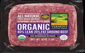 Vermont Country Farms Organic 80/20 Ground Beef