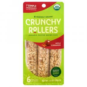 Crunchy Rice Rollers Apple Cinnamon