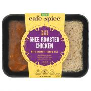 Cafe Spice Ghee Roasted Chicken With Basmati Cumin Rice