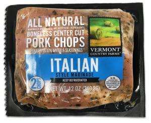 Vermont Country Farms Italian Marinade Pork Chops
