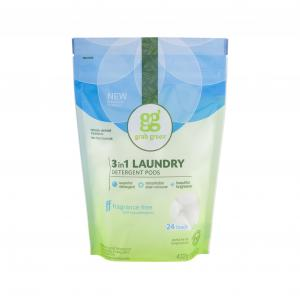 Grab Green Fragrance Free 3 in 1 Laundry Detergent Pods