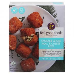 Feel Good Foods Sausage & Kale Mac & Cheese Bites