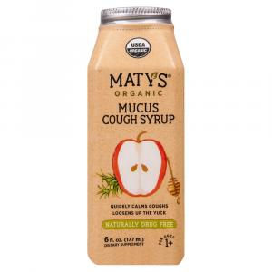 Maty's All Natural Mucus Cough Syrup