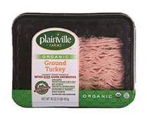 Plainville Farms Organic Ground Turkey