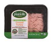 Plainville Farms Organic Ground Turkey