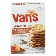 Van's Gluten Free The Perfect 10 Grain & Seed Baked Crackers