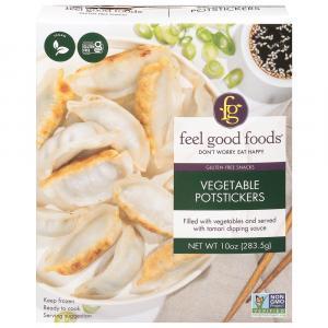 Feel Good Foods Gluten-Free Vegetable Dumplings