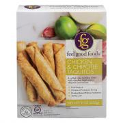 Feel Good Foods Chipotle Chicken Taquitos
