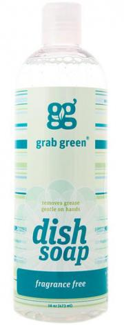 Grab Green Fragrance Free Liquid Dish Soap