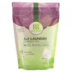 Grab Green 3in1 Laundry Detergent Pods Lavender With Vanilla