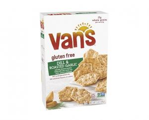 Van's Gluten Free Dill & Roasted Garlic Crackers