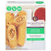 Feel Good Foods Gluten Free Vegetable Egg Rolls