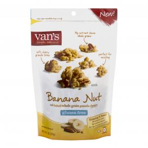 Van's Gluten Free Banana Nut Whole Grain Granola