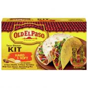 Old El Paso Hard & Soft Shell Taco Dinner Kit with 6 Taco