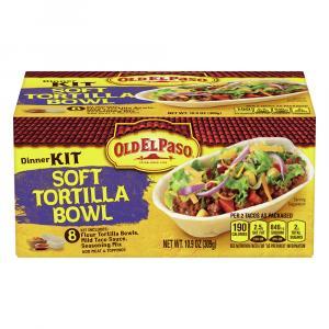 Old El Paso Stand N Stuff Soft Taco Dinner Kit