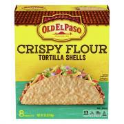 Old El Paso Crispy Flour Tortilla Shells
